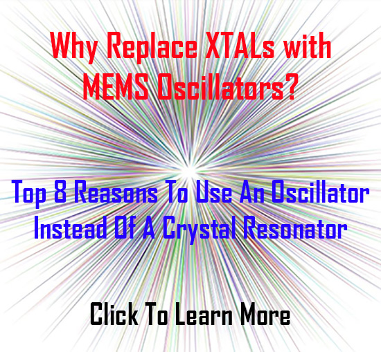 Top 8 Reasons To Use An Oscillator Instead Of A Crystal Resonator