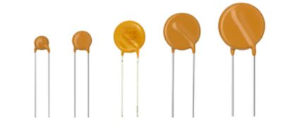 VDR Metal Oxide Varistors High Surge - Vishay VDRH Series varistors consist of a disc of low-ß ceramic material with two solid copper leads (H20 types only) or copper clad steel wire. Learn More…