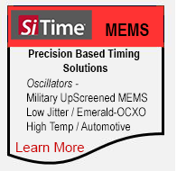 SiTime MEMS Oscillators. Precision Based Timing Solutions.
