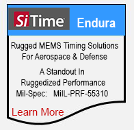 SiTime Endura. Rugged MEMS Timing Solutions For Military and Defense.