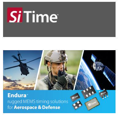 SiTime Endura Timing Solutions For Aerospace & Defense