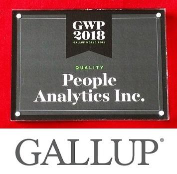 Amir Farmanesh Gallup IranPoll quality award