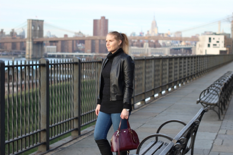 Gennifer Rose - Brooklyn Heights Promenade