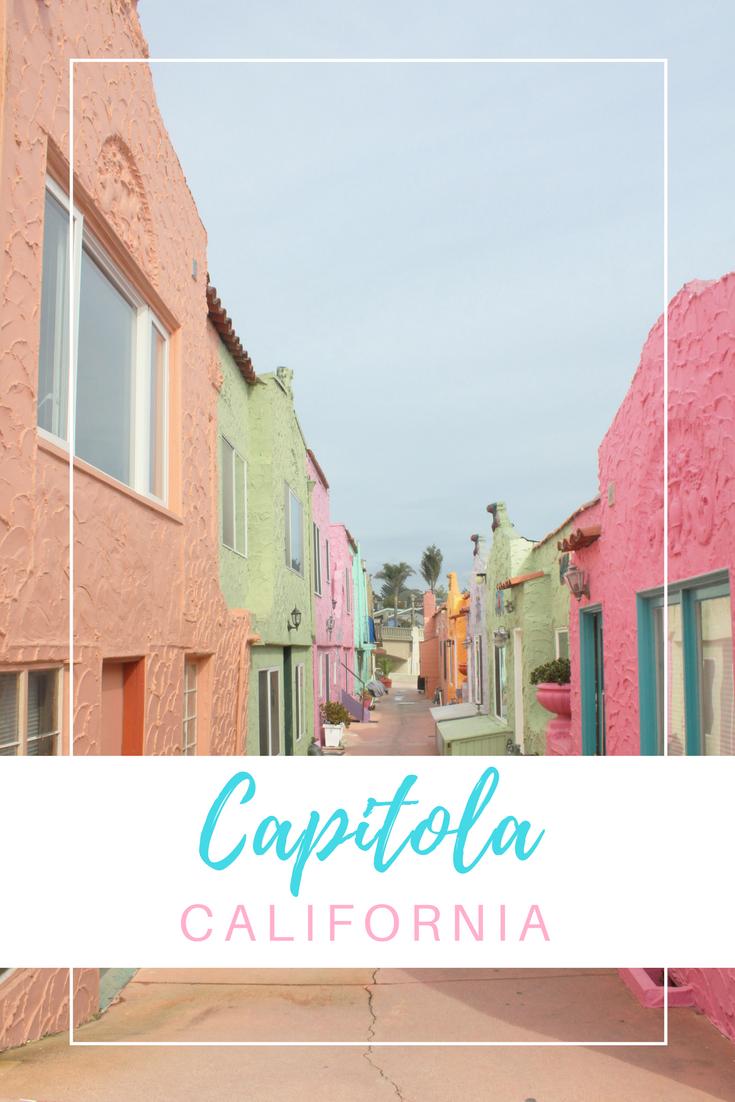 Gennifer Rose - Capitola + Top 10 California Seaside Spots