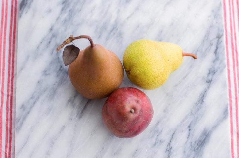 Gennifer Rose - Honey Glazed Baked Pears with Gorgonzola and Walnuts