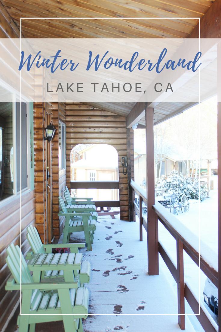 Gennifer Rose - Winter Wonderland in Lake Tahoe, Ca