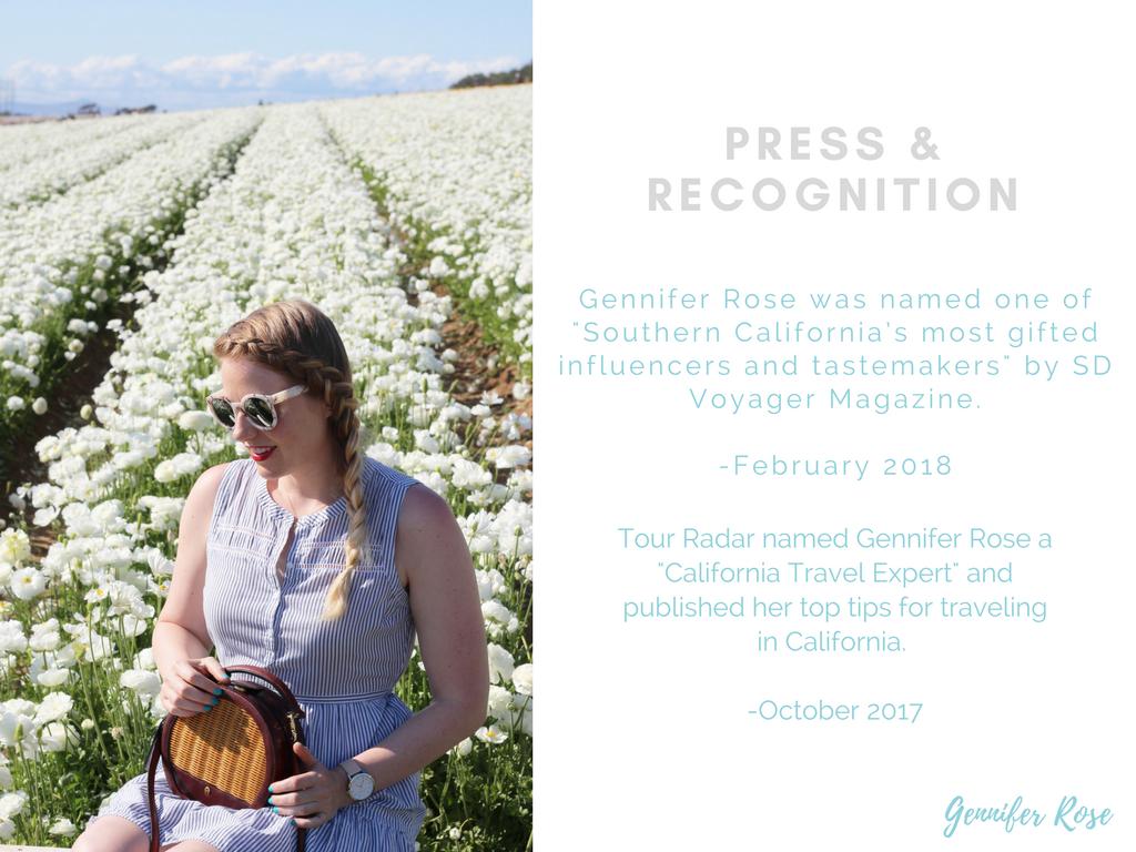 Gennifer Rose Blog - Press and Recognition