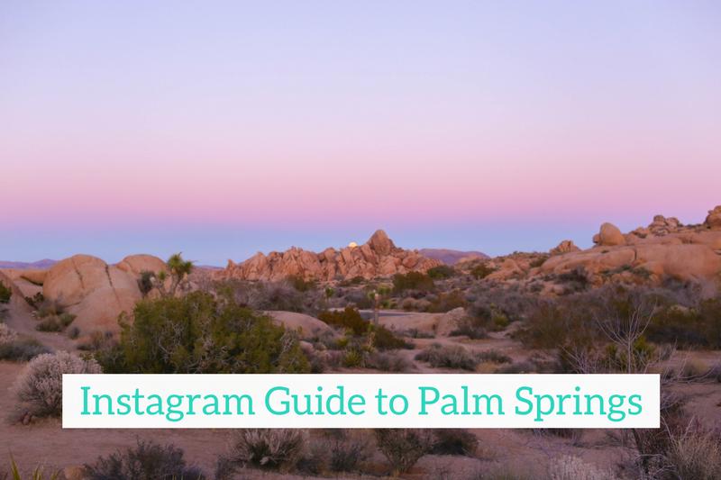Gennifer Rose - Instagram Guide to Palm Springs