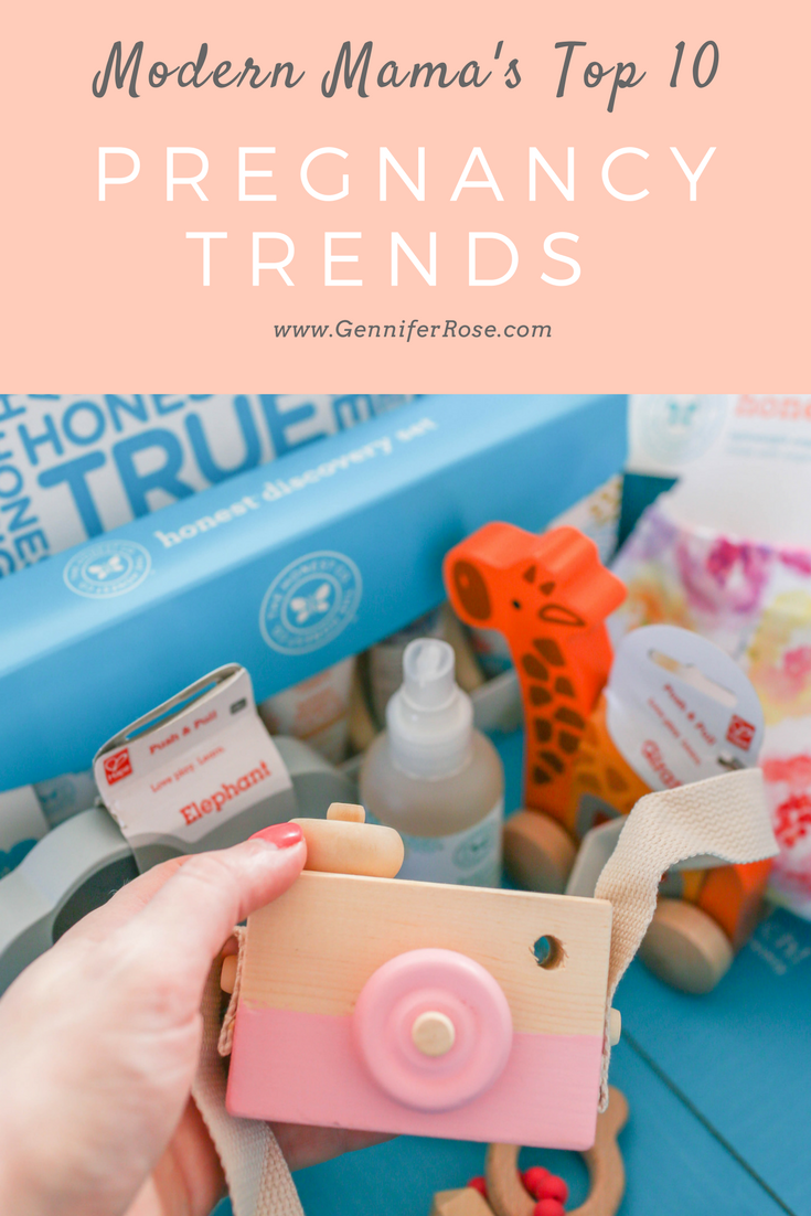 Gennifer Rose - Top 10 Pregnancy Trends for the Modern Mama