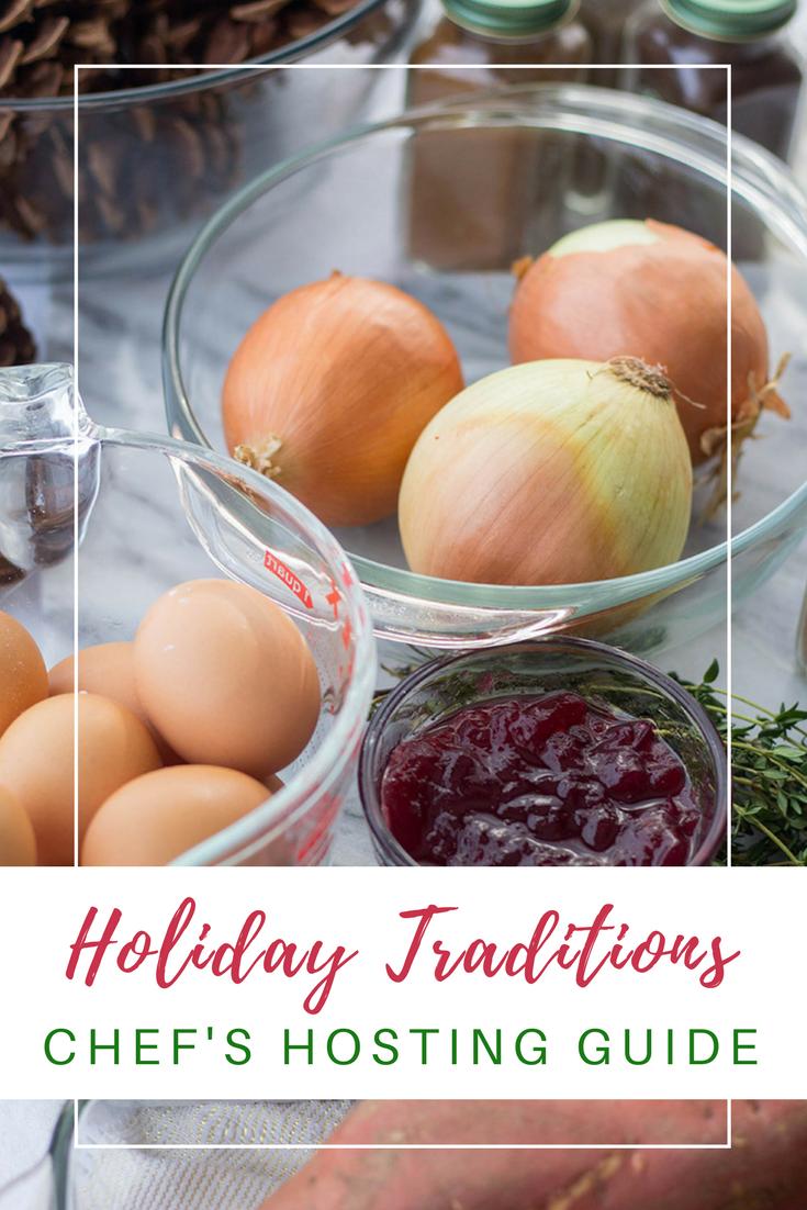 Gennifer Rose - A Foodie's Holiday Hosting Guide