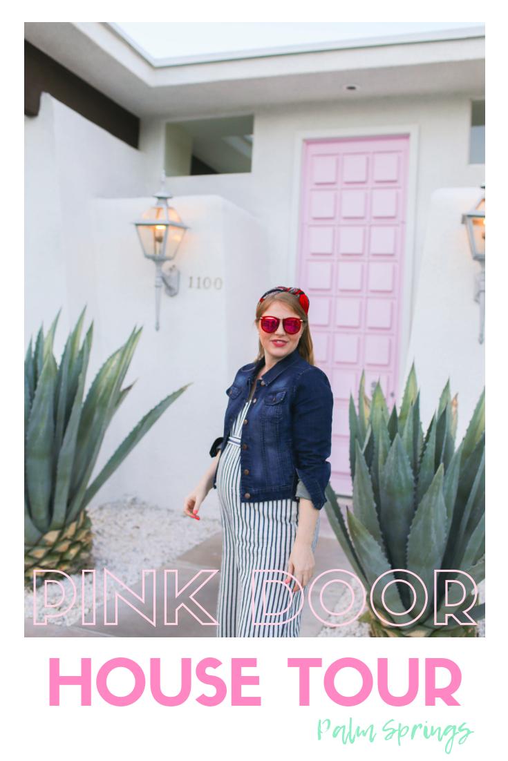 Palm Springs Door Tour + Inside the Pink Door
