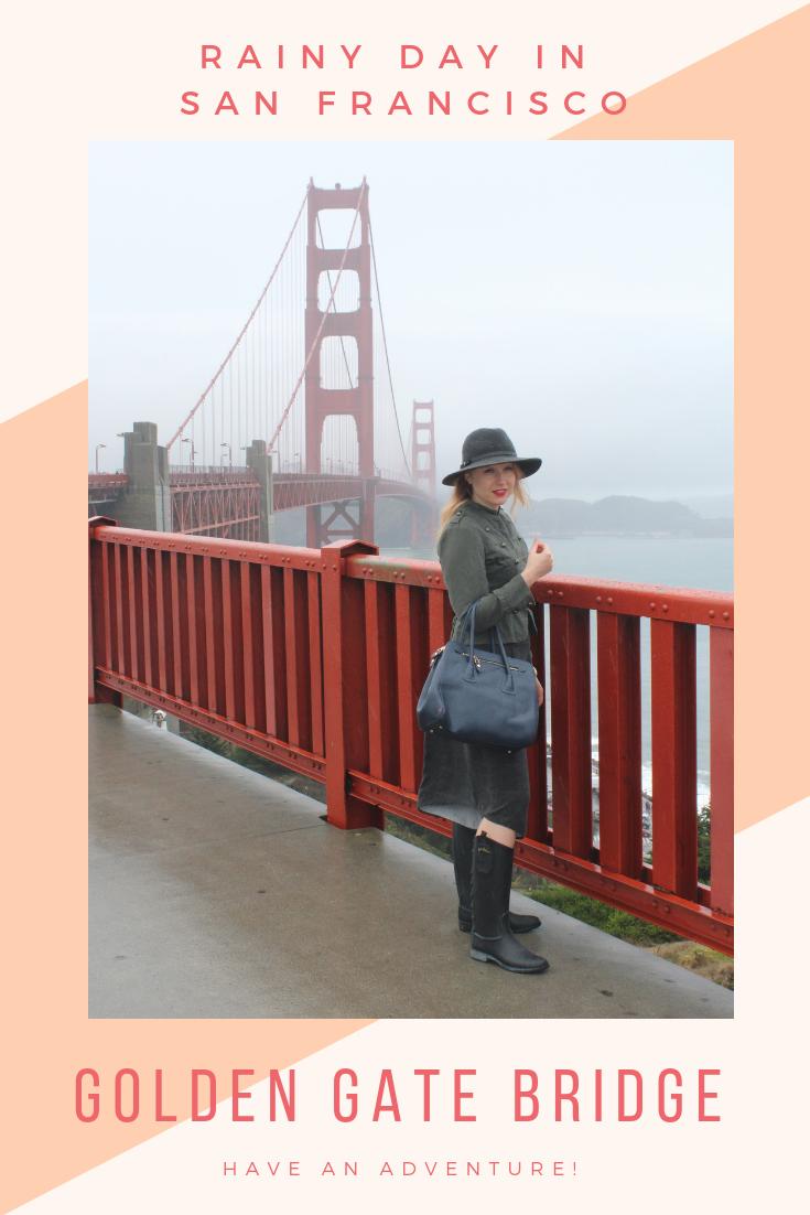 A Stormy Walk Across the Golden Gate Bridge