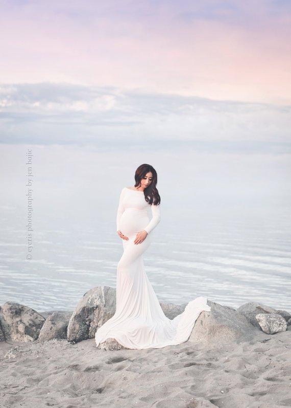 Krysten Maternity Gown By SewTrendy