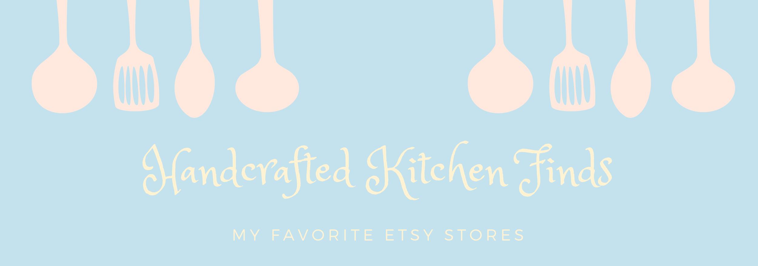 Etsy Kitchen Finds