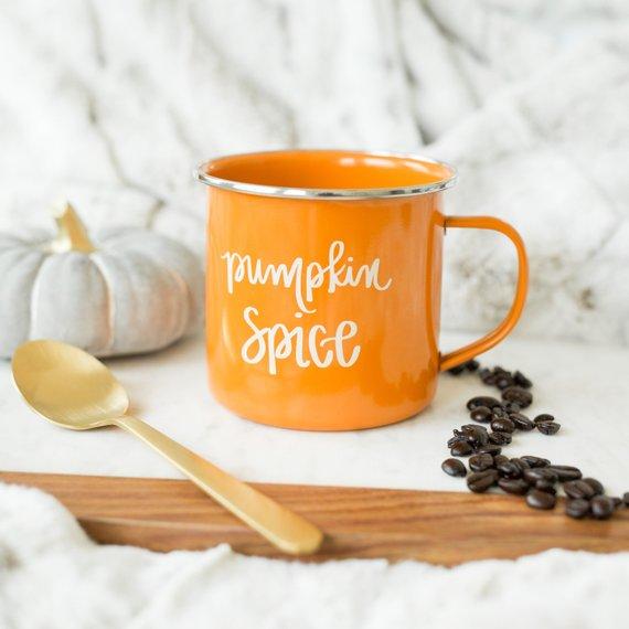 Pumpkin Spice Campfire Mug By Sweetwaterdecor