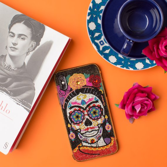 Frida Kahlo Phone Case By AmericanoCrystals