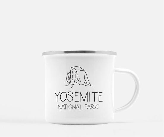 Yosemite Camp Mug By MorningRushDesigns