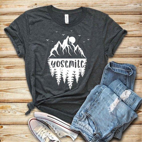 Yosemite National Park Shirt By Sightual