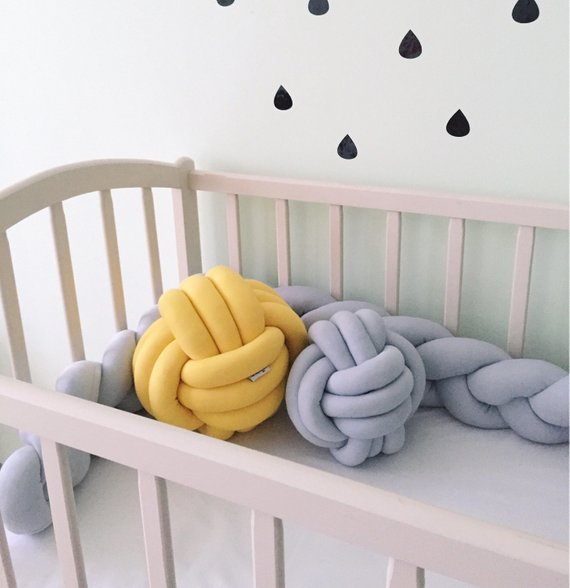 Knot Pillow Nursery Decor By Kikakids