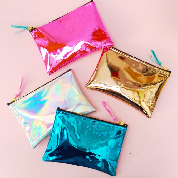 Ultimate Mirror Shine Holographic Pouches By PupTartHandmade