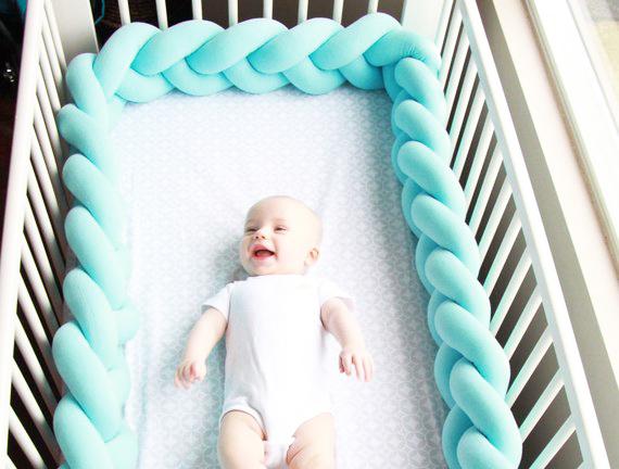 Braided Crib Bumper By Juju & Jake