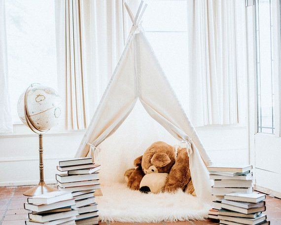 Natural Canvas Teepee By TipTopTeepeeShop