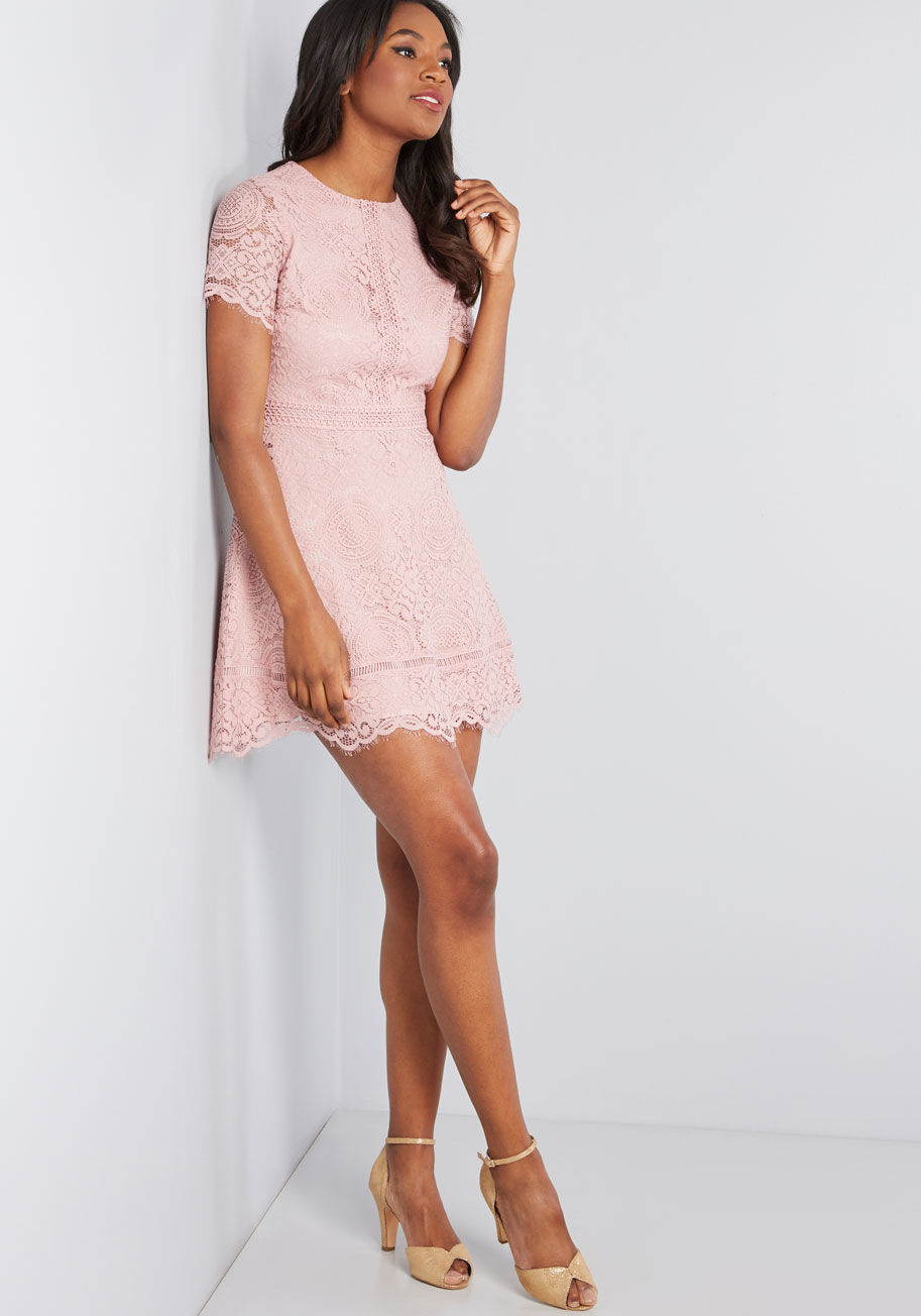 Daytime Date Lace Dress By ModCloth