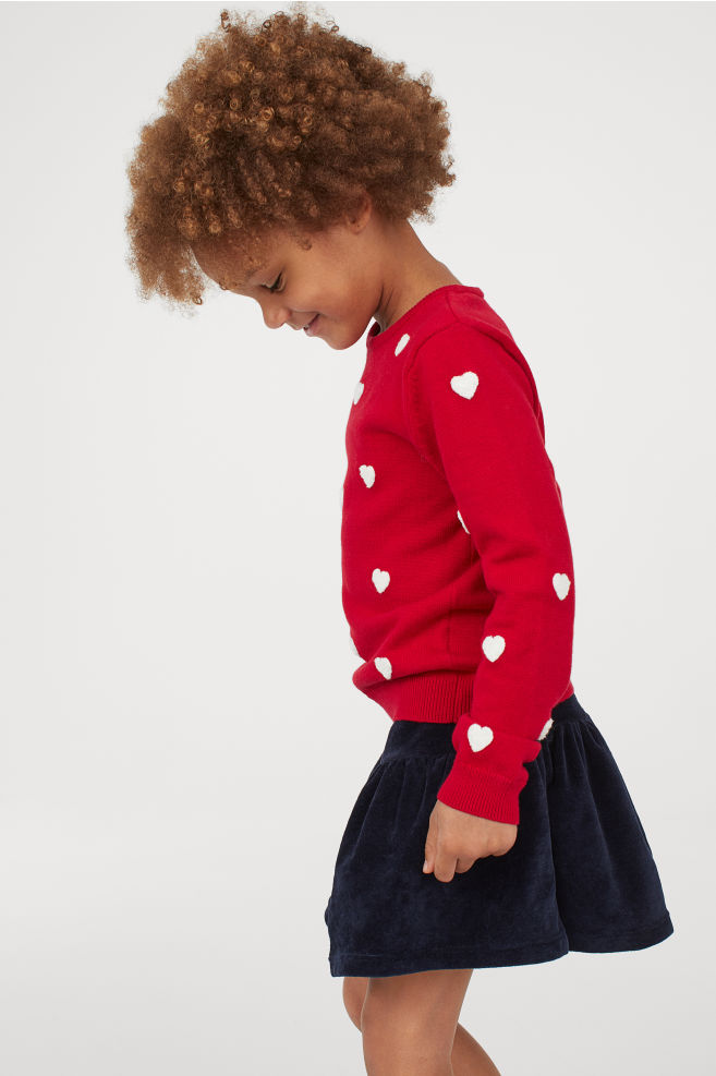 Hearts Sweater By H&M