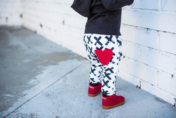 Valentines Baby Pants By MidBestThreads