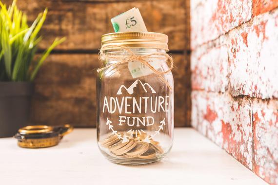 Adventure Fund Savings Jar By WanderCollective