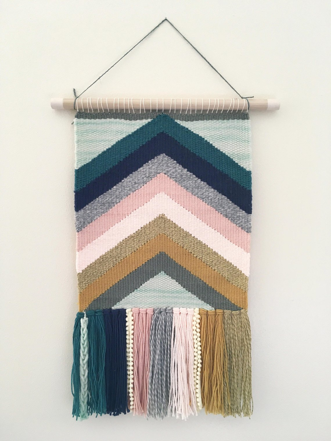 Large Handwoven Wall Hanging By Dawnellisdesign