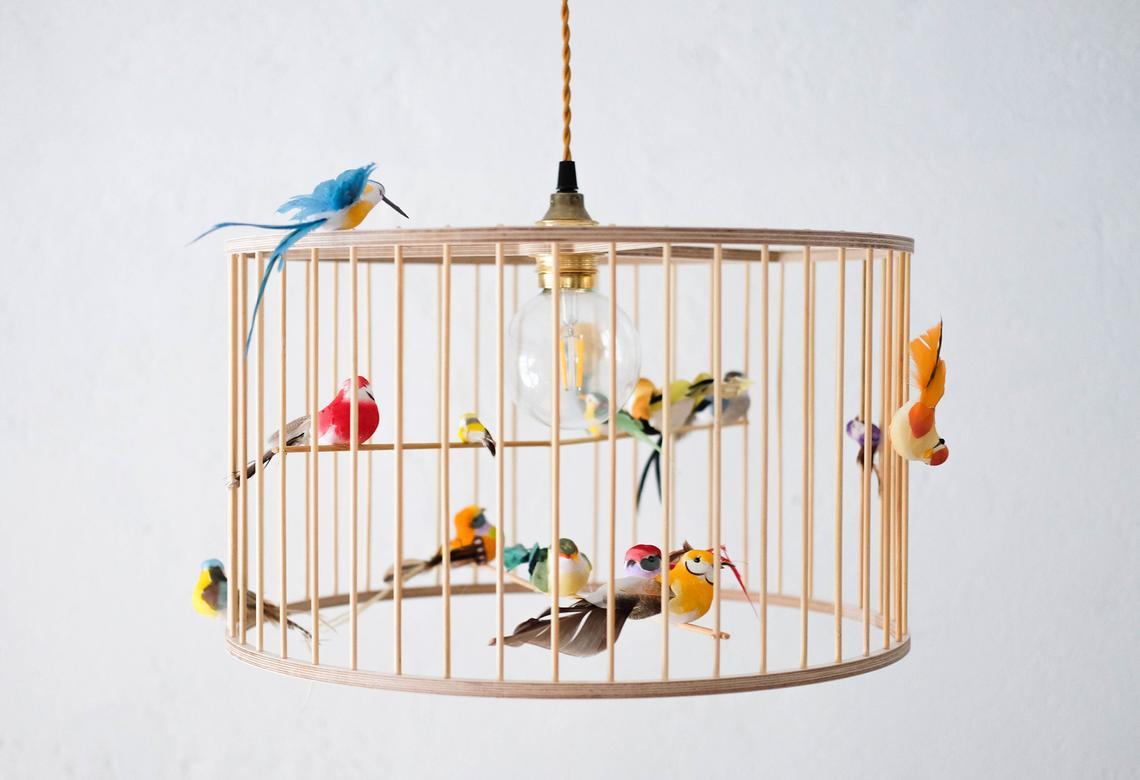 Birdcage Pendant Light Chandelier By KekoniKids