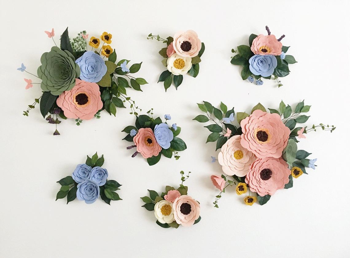 Large Scale Wallflower Set By Alisonmichel