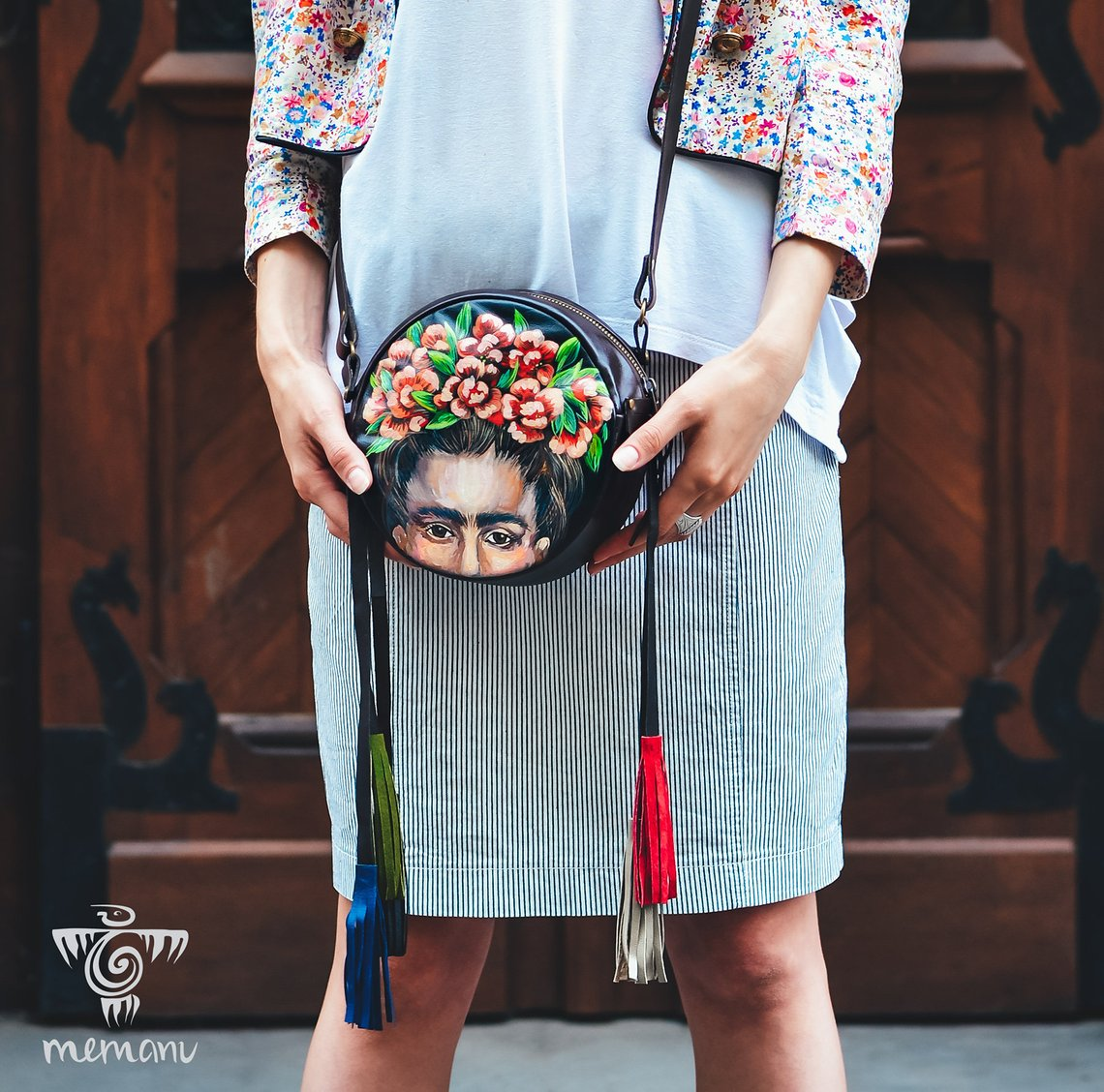 Cross Body Frida Bag By Memanubags