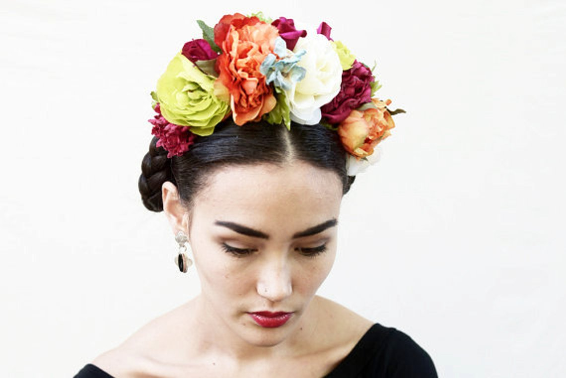 Frida Flower Crown By BloomDesignStudio
