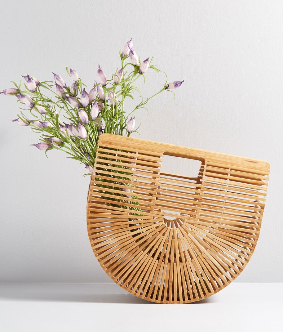 Some Sunny Day Bamboo Cage Bag by ModCloth