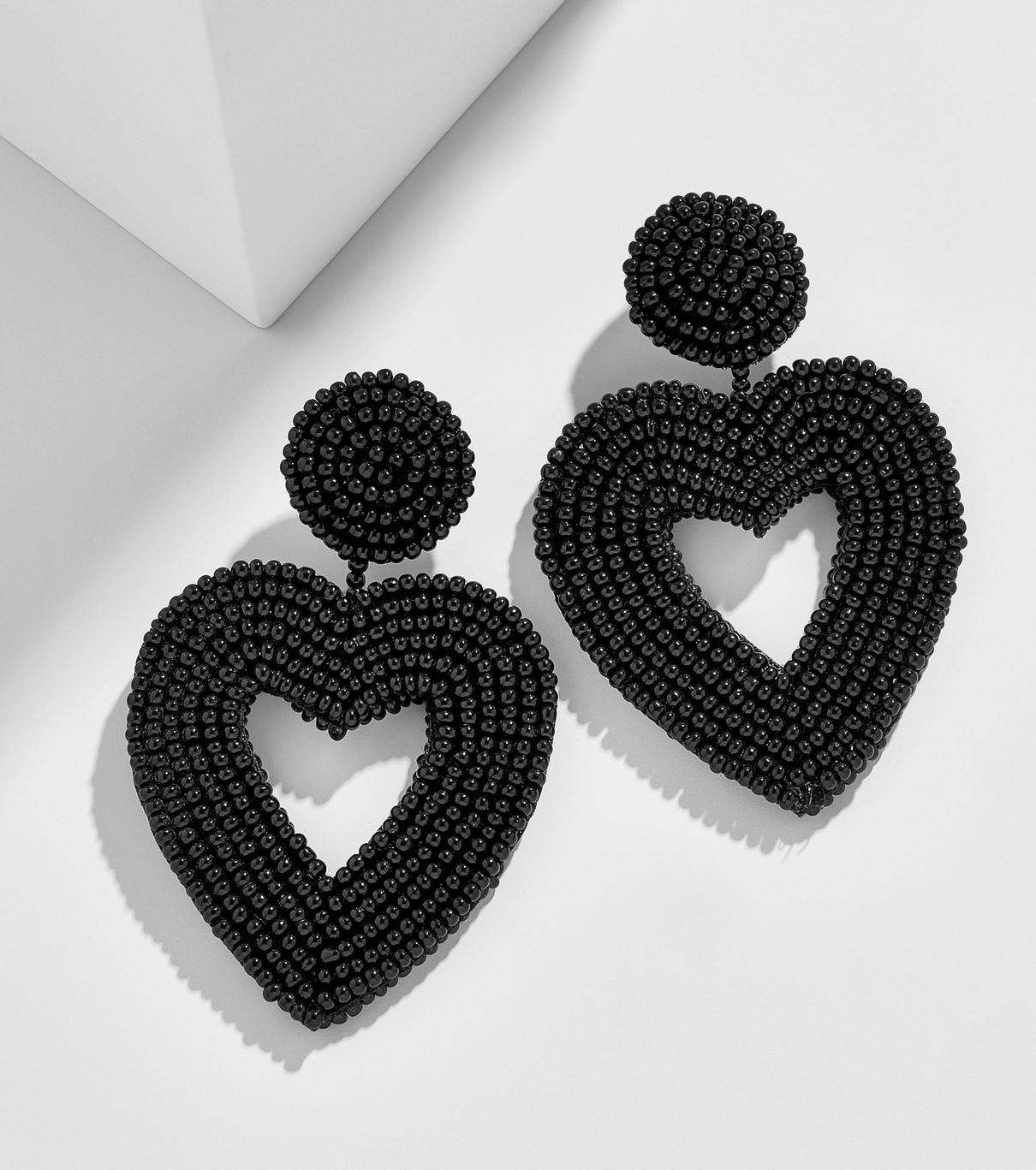 VIONNET HEART DROP EARRINGS By Baublebar