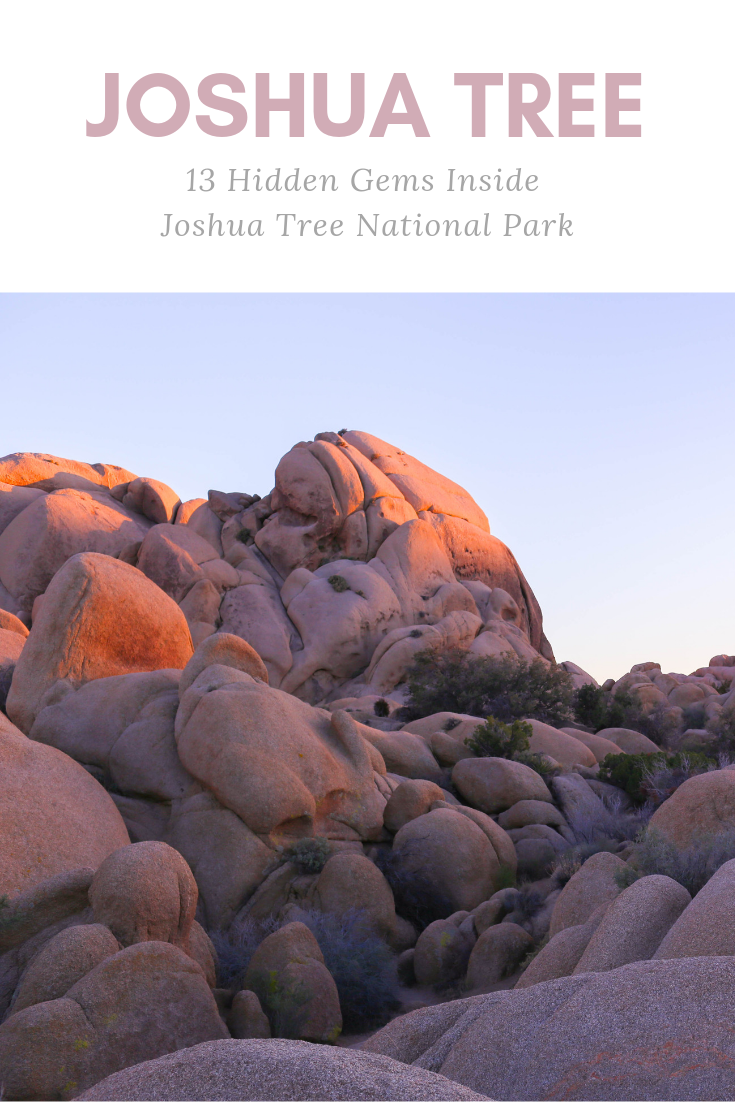13 Hidden Gems Inside Joshua Tree National Park