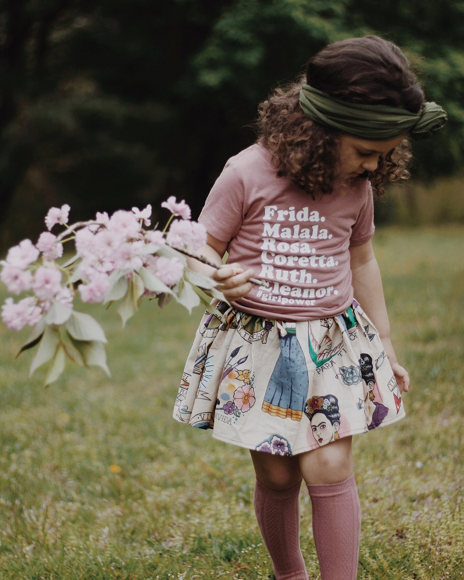 Girl Power Feminist Tee By Kal and Co