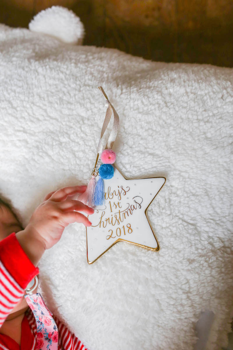 10 Ways to Celebrate Baby's First Christmas