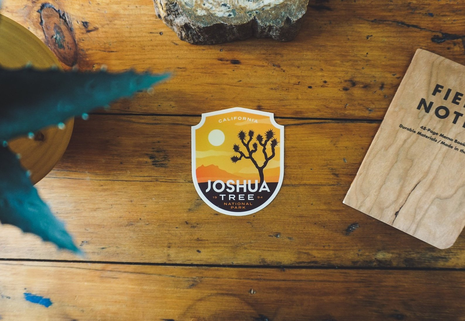Joshua Tree National Park Sticker By Eiman Design Co