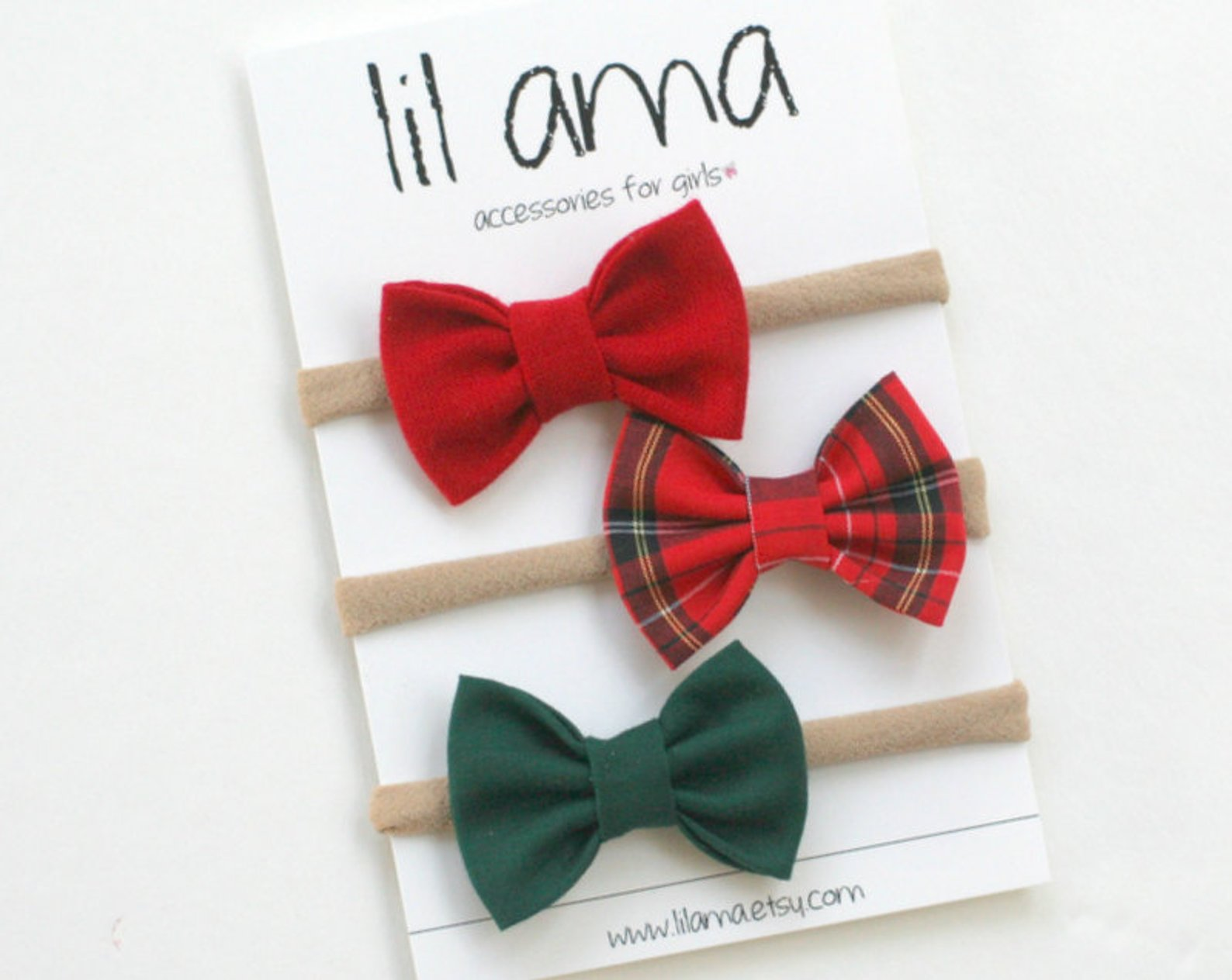 Christmas Baby Headbands By Lilama