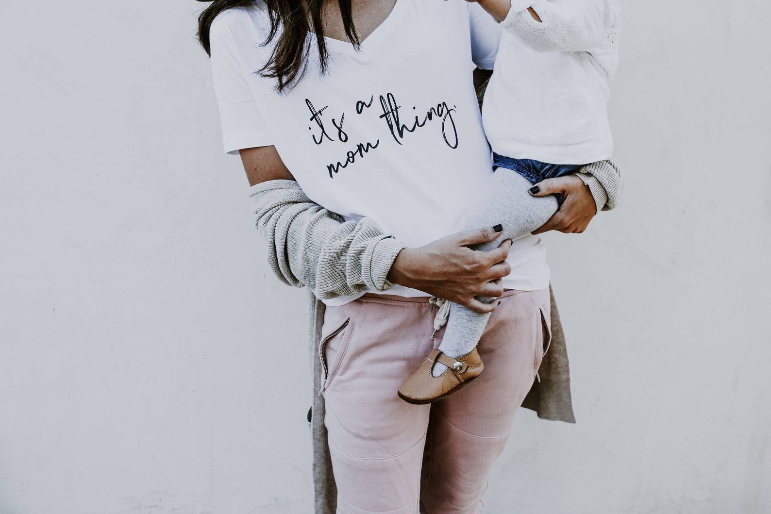 It's a Mom Thing Slouchy Tee By Tolittlearrows