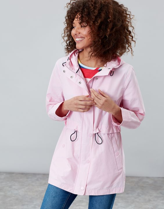 Victoria Pale Pink Raincoat by Joules