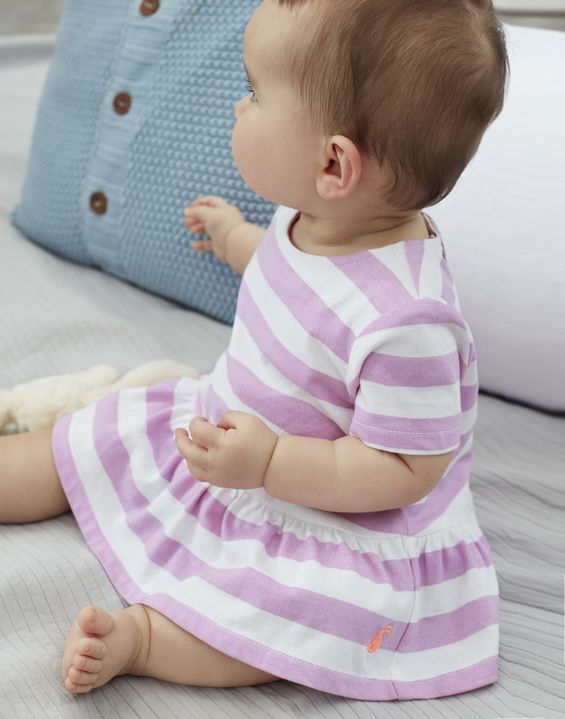 Romy Jersey Top & Woven Bloomer Set By Joules