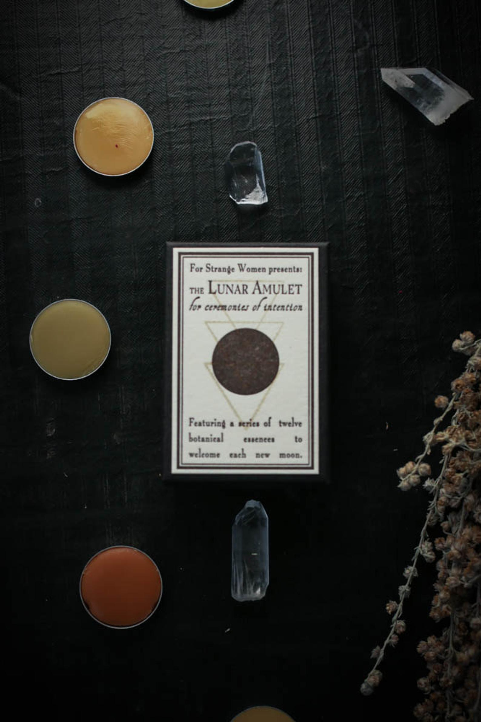 The Lunar Amulet for Ceremonies of Intention By For Strange Women