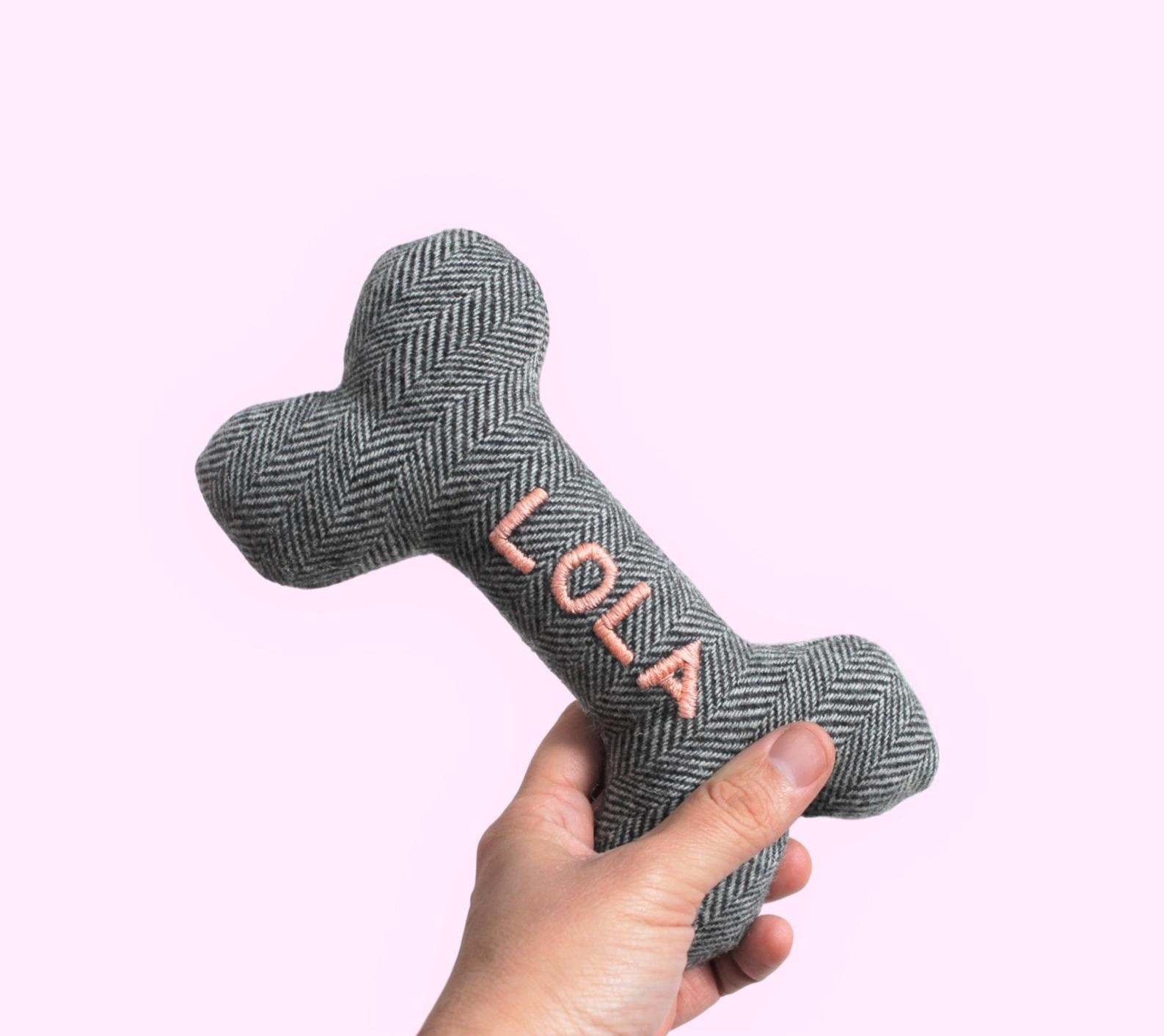 Dog Personalized Toy By Hither Rabbit