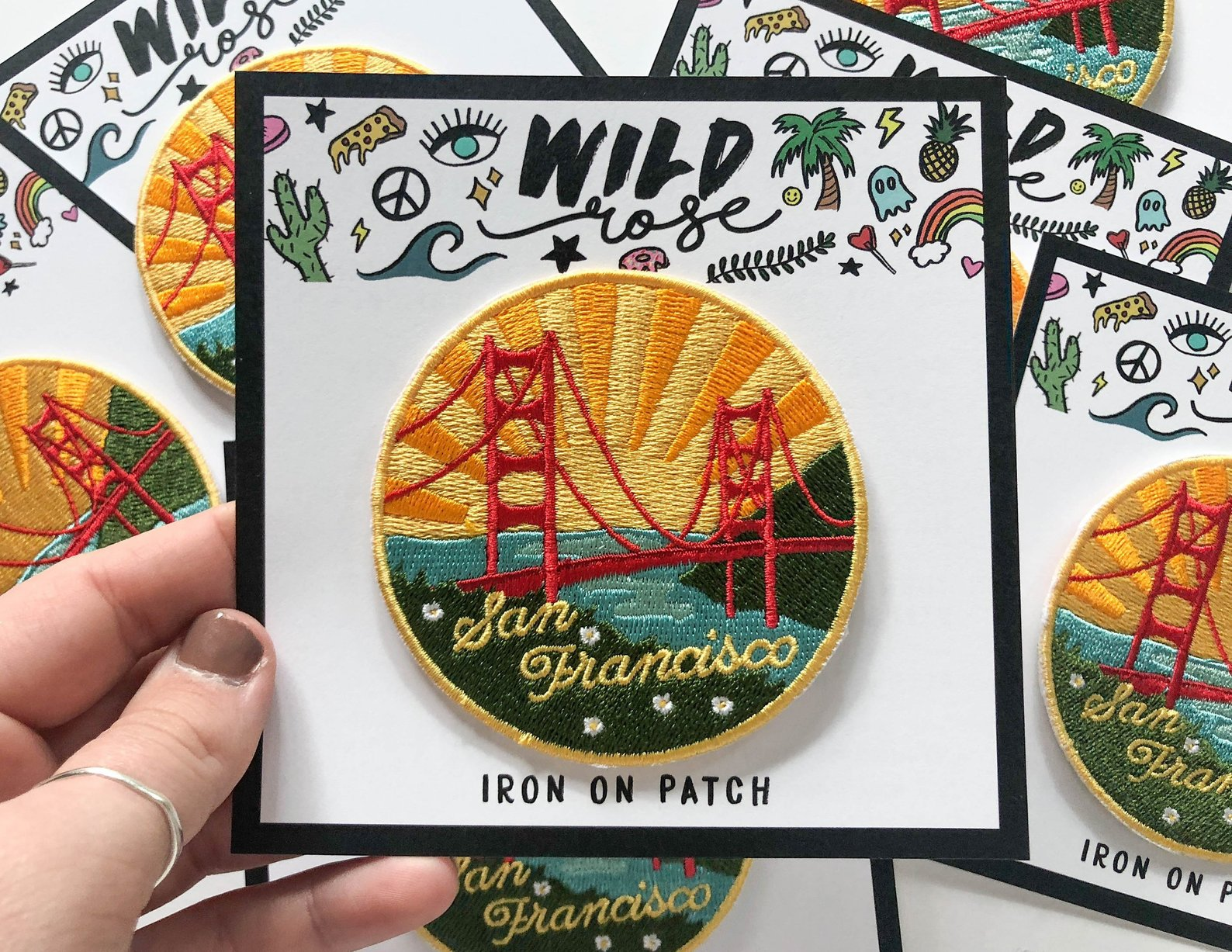 San Francisco Patch By Wild Rose Shop NY