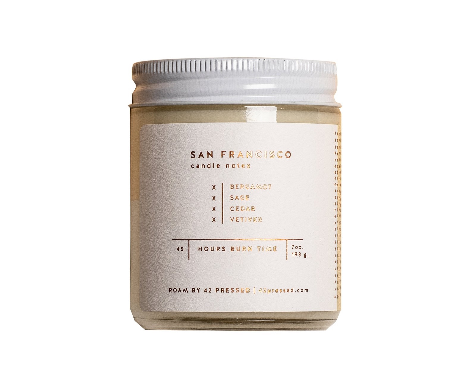 San Francisco Soy Wax Candle By 42Pressed