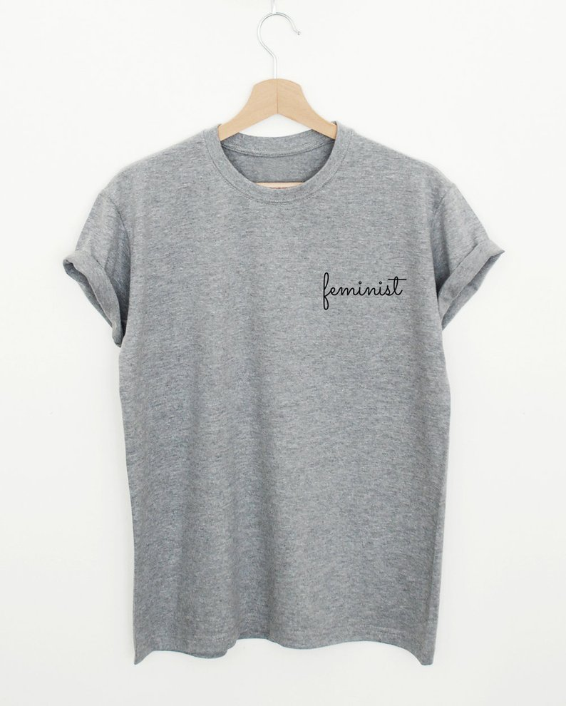 Feminist T-shirt By SuperPrintShop